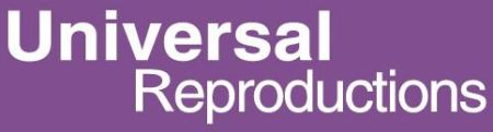 Universal Reproductions logo